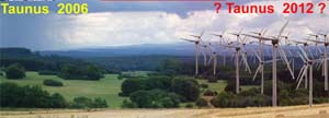 Windanlage im Taunus