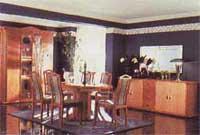 Beispiel einer schönen Farbestaltung eines Wohnraumes
