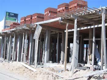 Baustelle auf Djerba (Tuniesien)