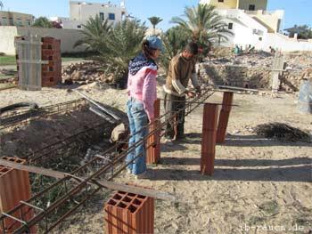 Baustelle auf Djerba
