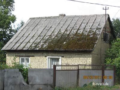 Lehmsteinhaus in Velykyi Bychkov