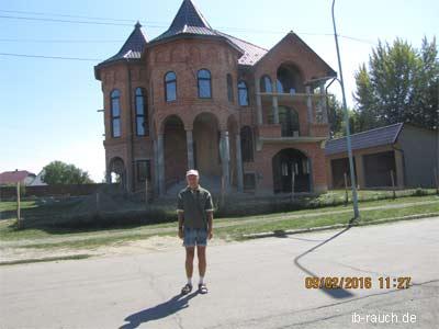 Villa aus Ziegelsteine in Transkarpatien