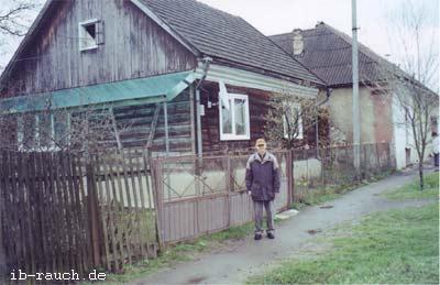 Holzhaus in Karpatien