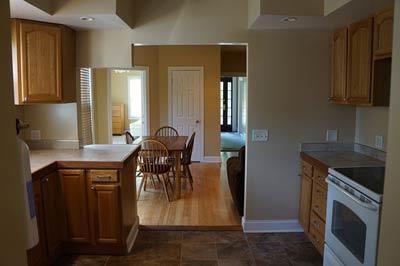 Ansicht Einer Küche