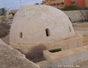 Massivhaus mit Kugelgewölbe in Nordafrika