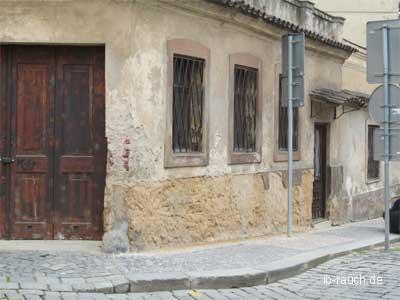 Historische Lehmgebäude Prag