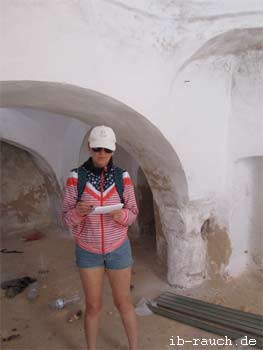 Untersuchung in einem historischen Gebäude auf Djerba