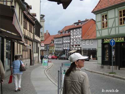 Nelia Sydoriak im Quedlinburg