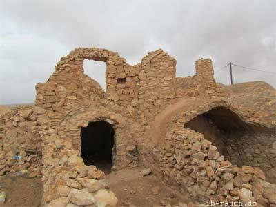 älteres Wohngebäude in Tunesien