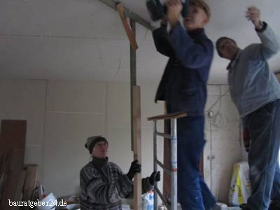 Decken neu bauen - renovieren