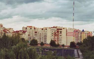 Neue Häuser in Vinnitsa