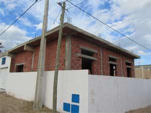 Ziegel zur Ausfachung bei Wohngebäuden auf Djerba