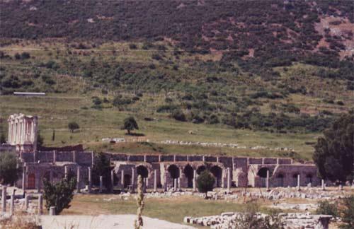 Blick auf Ephesus