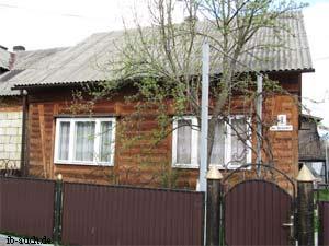 Holzhaus in den Karpaten