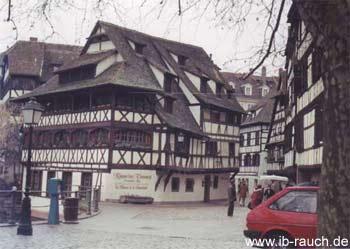 sehr altes Fachwerkhaus in Straßburg
