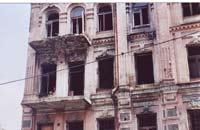 Schäden durch Feuchtigkeit und Zerstörung des Gebäudes